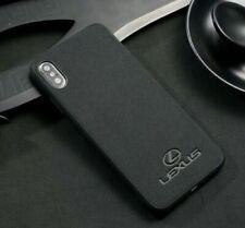 Alcantara Suede Lexus iPhone Protection Case Cover Logo Wireless Charging Slim