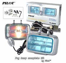 2 4X4 OFF ROAD UNIVERSAL DRIVING LAMPS FOG LIGHTS SET KIT WIRING HARNESS 55