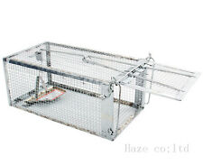 RAT MOUSE VERMIN CAGE TRAP HUMANE ANIMAL CATCHER PEST CONTROL NO POISON DDD