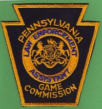 Pa Pennsylvania Game Commission NEW Cut Edge Law Enforcement Asst Uniform Patch