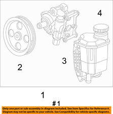 Ram CHRYSLER OEM 13-17 3500-Power Steering Pump 68193091AB