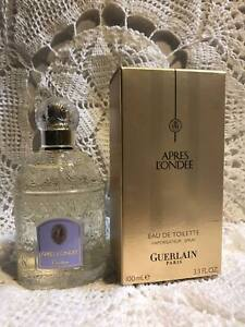 GUERLAIN  APRES L`ONDEE 100 ml 3.3 OZ EDT DISCONTINUED NEW in Box! Old packaging