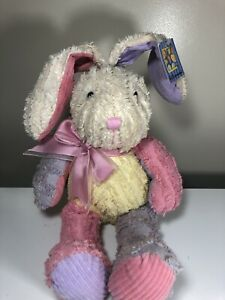 "Dan Dee Chenille 20"" Bunny Vintage Collectors Choice 20"" Excellent Cond w Tags"