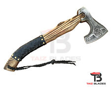 More details for viking axe forged bear paw axe/hatchet best birthday anniversary gift for him