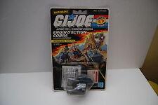 GI JOE COBRA ENGIN D'ACTION COBRA MITRAILLEUSE POM-POM HASBRO 1987 NEUF/NEW