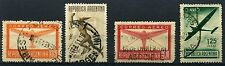 1940 Argentina Part set of 4 Aereo stamps Used