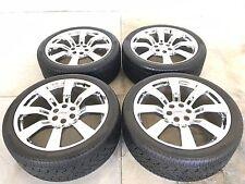 "24"" 24 inch GMC Yukon Wheels Rims OEM Specs Chrome Tires Delinte 3053524 4-set"
