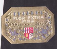 Lytho médaillon Cigare Label  BN32346 Flor Extra Fina Blason