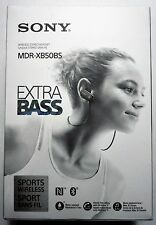 Sony MDR-XB50BS Extra Bass Wireless Bluetooth Earbuds Headphones w/Mic-Black