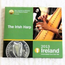 IRELAND 2013 THE IRISH HARP 8 COIN UNCIRCULATED EURO SET - sealed pack