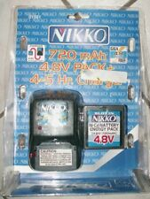 Nikko 01561 720mAh 4.8v Ni-Cd Battery Energy Pack + chargeur 4.8V super flash