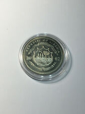Médaille Five Dollars VATICAN - REPUBLIC OF LIBERIA 2002