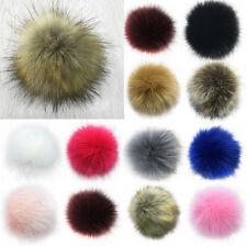 Soft Faux Fur PomPom DIY Car Handbag Keychain Fluffy Ball Pendant Accessories
