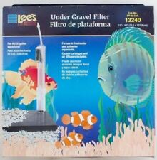 "Under-Gravel Aquarium Filter Lee's Original CAT.# 13240 40-55 Gal Long 48"" x 12"""