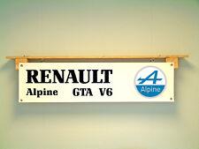 RENAULT ALPINE GTA V6 Bannière Pour Garage Atelier Car Show Display