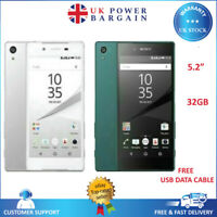 SONY Xperia Z5 E6653 Black White Gold Green 32GB Android Unlocked Mobile Phone