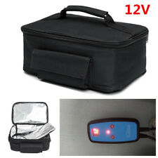 12V Camping Car Heating Controller Electric Oven Mini Hot Food Tote Heating Bag