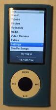 "New listing iPod nano 5th gen 16gb Purple ""has video camera & Pedometer"" Works Great"