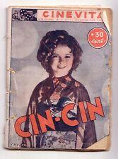Cinevita n° 78 Cin-Cin 1937