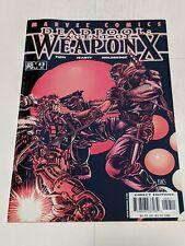 Deadpool Agent of Weapon X #3 59 December 2001 Marvel Comics