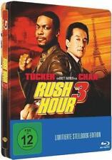 RUSH HOUR 3 (Jackie Chan, Chris Tucker) Blu-ray Disc, Steelbook NEU+OVP