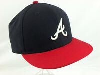 Atlanta Braves New Era MLB Authentic Col Kids Youth Trucker Style Hat Cap 6 5/8