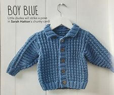 KNITTING PATTERN Baby Bomber Jacket Textured Collared Cardigan Childrens Rowan