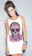 Plus Size Sleeveless Gothic T-Shirts for Women