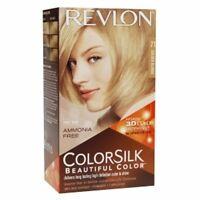 Revlon Colorsilk Hair Color, #71 Golden Blonde (3 Pack)