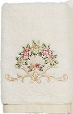 Avanti Premier Royal Rose Hand Towel, Ivory, New, Free Shipping