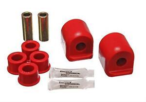 Energy Suspension CONTROL ARM BUSHING SET Red 7.3109R
