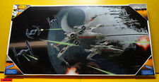 Star Wars - Tie Fighter vs. X-Wing - Poster in gehärteten Glas 60 x 30 NEU+OVP