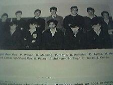 wadkin leicester 1965 picture new apprentices wilson boyle kempton johnston