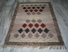 Hand Woven Jute Shaggy Rug 4x6 Best Home & Office Decorative Natural Area Rug
