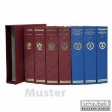 Schaubek A-901/01B Album USA 1847-1969 Brillant im geprägten Leinen-Schraubbinde