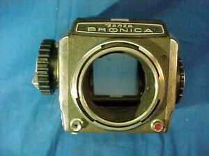 Orig Vintage ZANZA BRONICA Medium Format CAMERA BODY For Parts