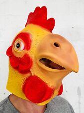 PROTECTION COMPLÈTE CAOUTCHOUC poulet Masque Latex Animal Coq Oiseau