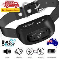 BARK DOCTOR PB10 ANTIBARK BARK STOP DOG COLLAR SOUND VIBRATION STATIC E-collar