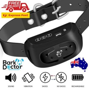 BARK DOCTOR PB10 COMPLETE ANTIBARK BARK DOG COLLAR BEEP VIBRATION ZAP E-collar