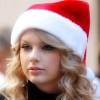 New Santa Luxury Christmas Party Fancy Dress Hat Xmas Adult Velvet Deluxe Hats