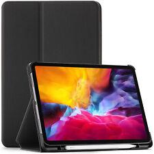 Apple iPad Pro 11 2020 Case, Cover, Sleep Wake + Stylus & Screen Protector
