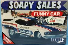 1/25 MPC-831 Soapy Sales Dodge Challenger Funny Car  Plastic Model kit