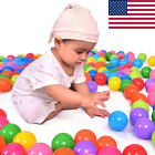 200pcs Quality Secure Baby Kid Pit Toy Swim Fun Colorful Soft Plastic Ocean Ball