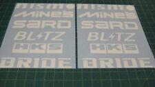 Sticker decal for Nissan Skyline 350Z 300ZX Nismo Mines HKS Sard Blitz silvia