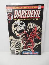 Daredevil Marvel Comic Book 130 Classic Skeleton Cover Marv Wolfman Klaus Janson