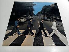 The Beatles Abbey Road 1st press No Her Majesty EX Vinyl LP Record PCS 7088
