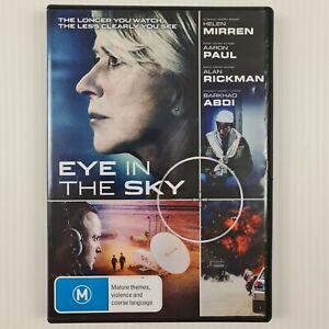 Eye In The Sky DVD - Helen Mirren, Aaron Paul - Region 4 - TRACKED POSTAGE