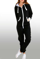 Damen Herren Loungewear Casual Overall Training Jumpsuit Sport Onesie Hausanzug