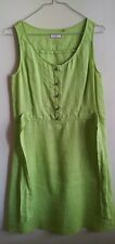 Vestito in puro lino da donna  Max & Co Originale Taglia 42 colore verde