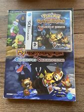 Nintendo DS Game Pokemon Mystery Dungeon Explorers Of Darkness With Guide